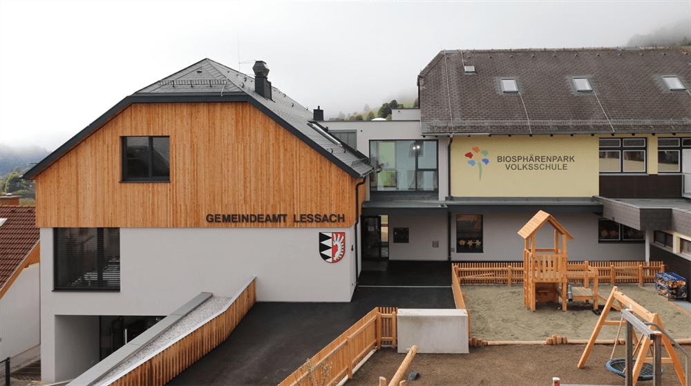 Neues Gemeindeamt in Lessach